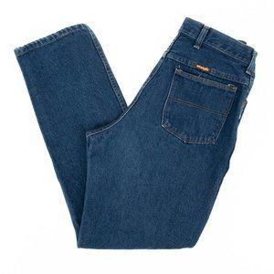 Vintage Wrangler Straight Leg Jeans Blue 14 28x29